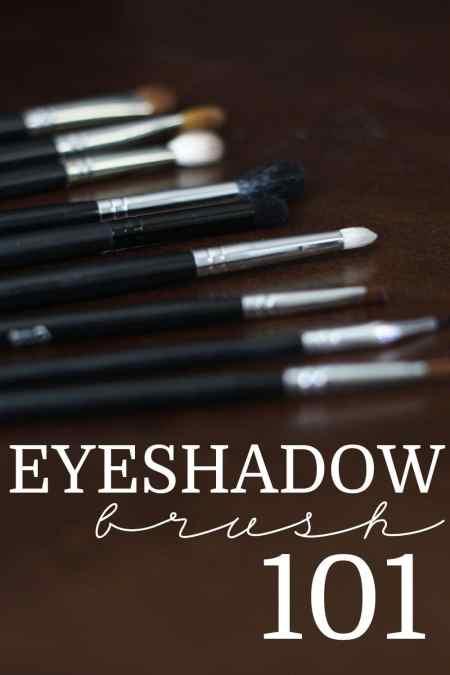 Eyeshadow Brush 101