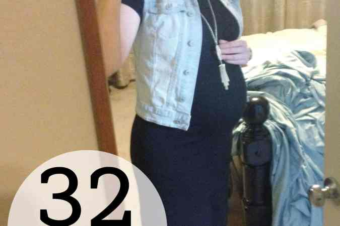 Preggo Meg O. – 32 Weeks!