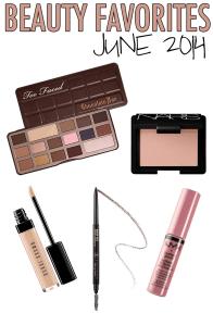 June 2014 Beauty Favorites