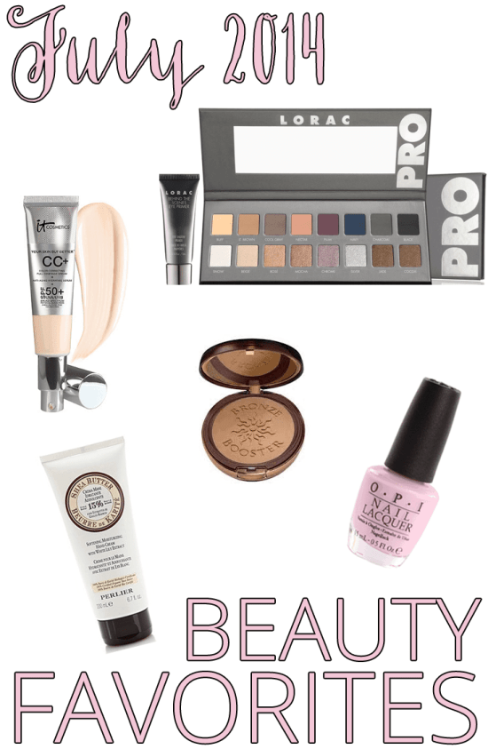 July 2014 Beauty Favorites