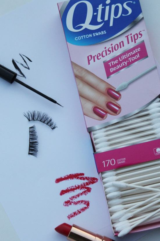 Holiday Glam Beauty Tricks with Qtips