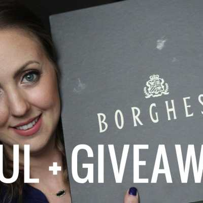 Borghese Haul and Giveaway