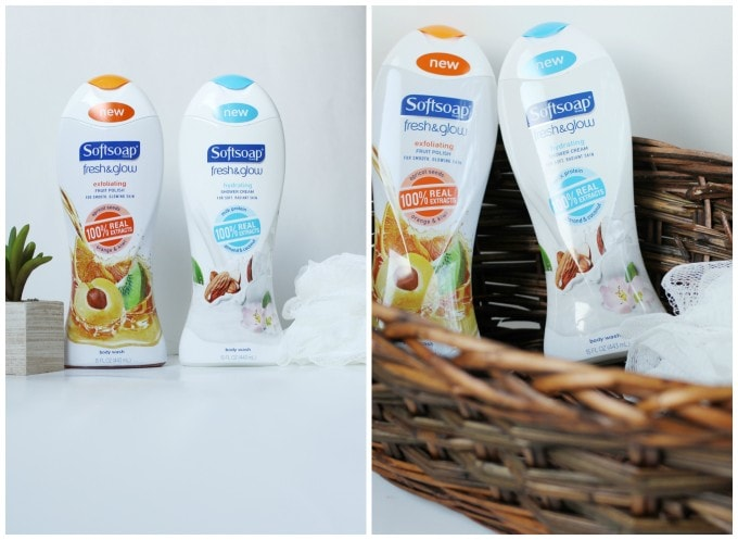 Softsoap Fresh & Glow Body Washes