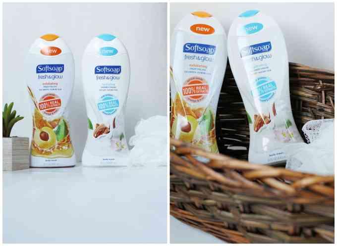 Softsoap Fresh & Glow Body Washes