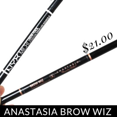 NYX Micro Brow Pencil vs. the Anastasia Brow Wiz