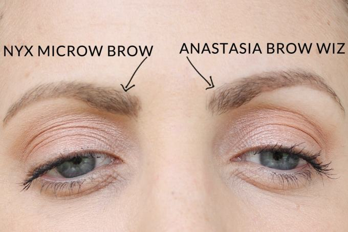 NYX Micro: Anastasia Brow Wiz Dupe? by beauty blogger Meg O. on the Go