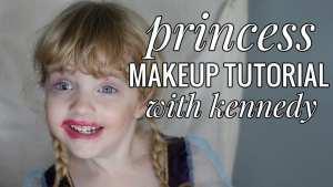 Hilarious toddler makeup tutorial!