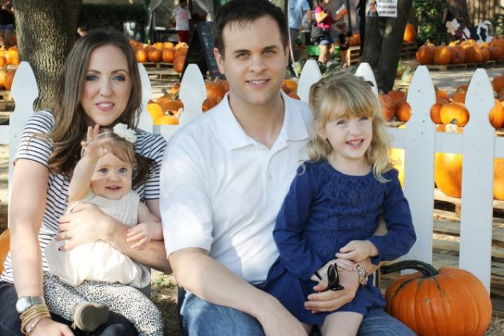 Pumpkin Patch Family Photo