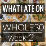 What I Ate on Whole30 – Week 2