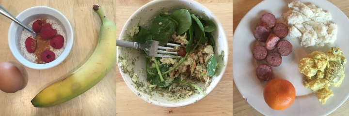 what I ate on Whole30 day 9