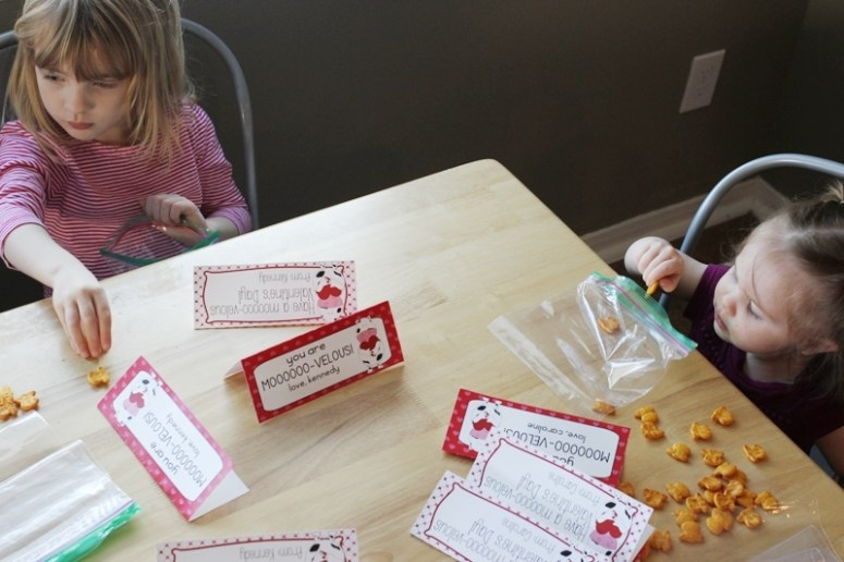 get kids involved in making their classroom Valentines!