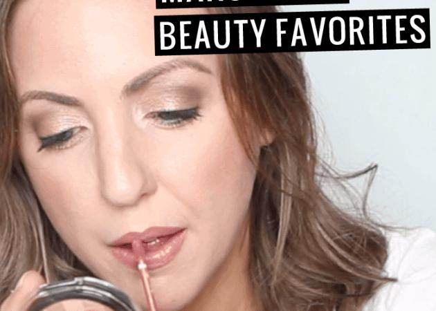 March 2016 Beauty Favorites