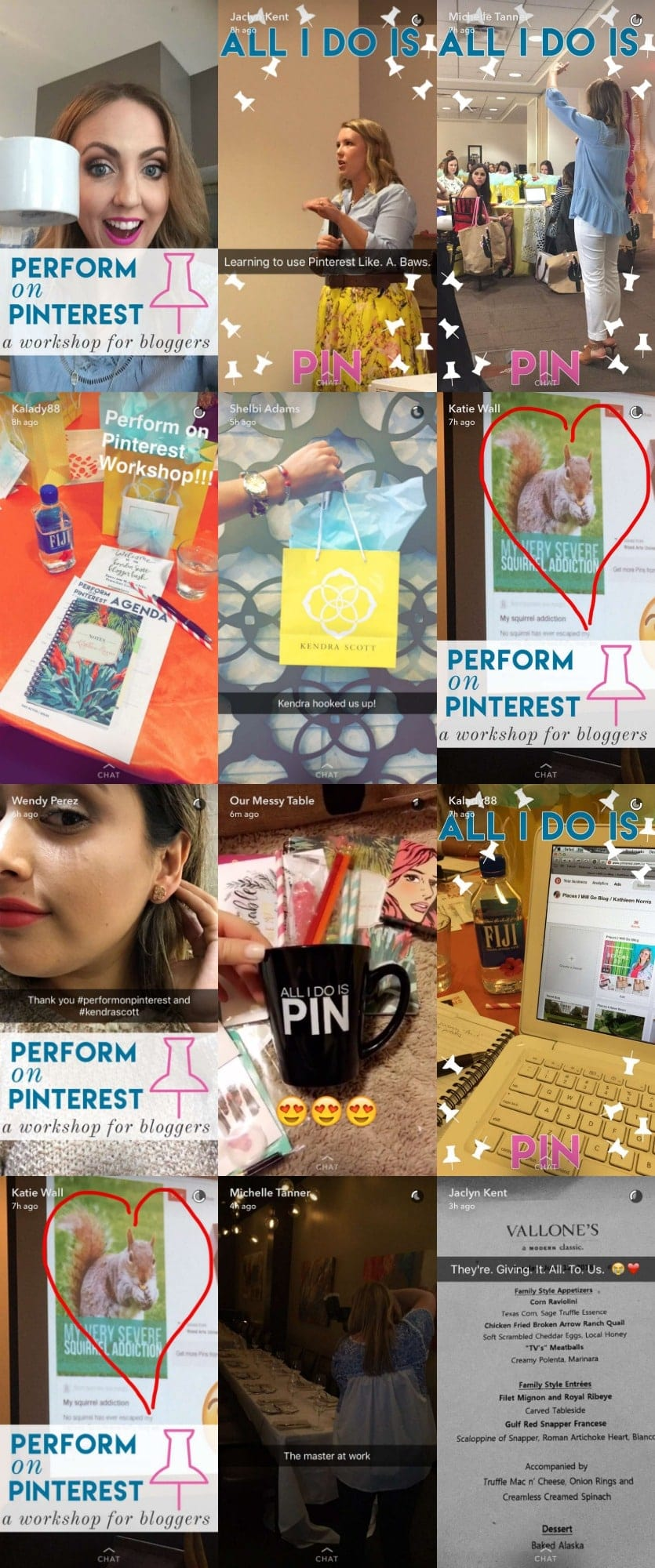 Perform on Pinterest Snapchat Geo Filter