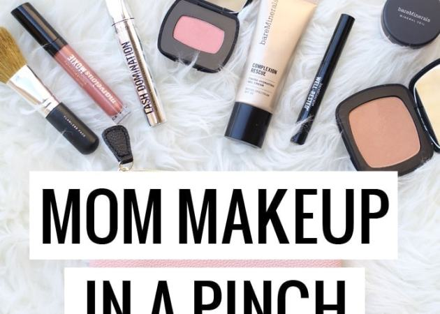 Mom Makeup in a Pinch