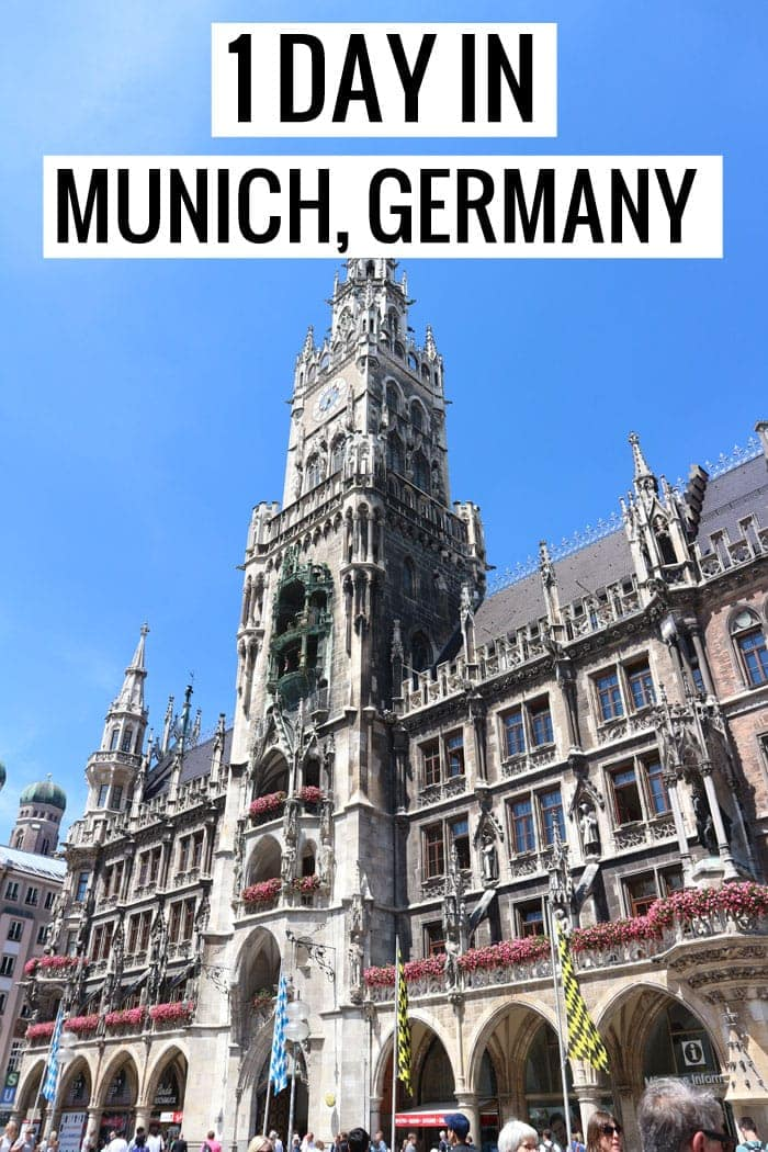 What to do in Munich, Germany if you only have 1 day! Where to stay, what to eat, what to see!