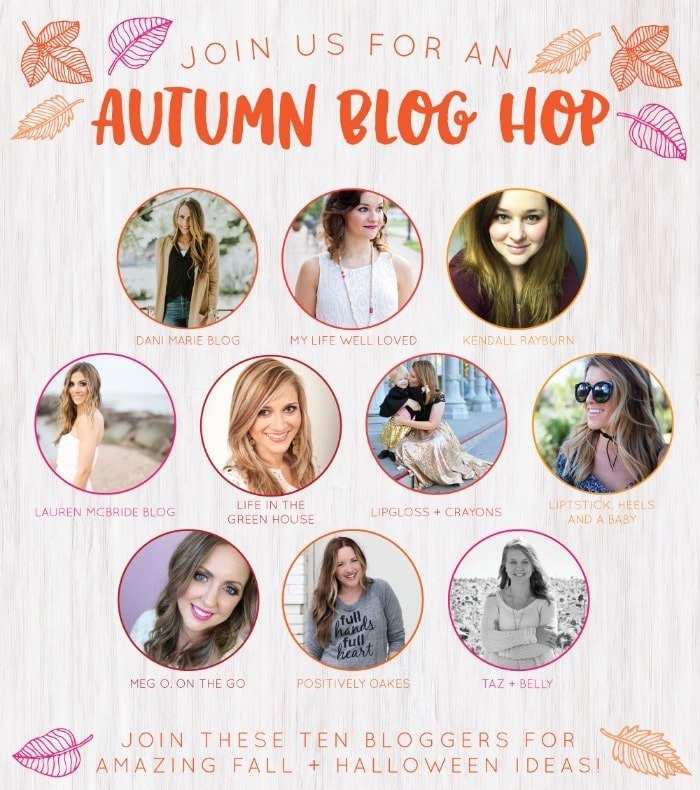 Autumn Blog Hop! Lifestyle, beauty, mommy, home decor, and much more!