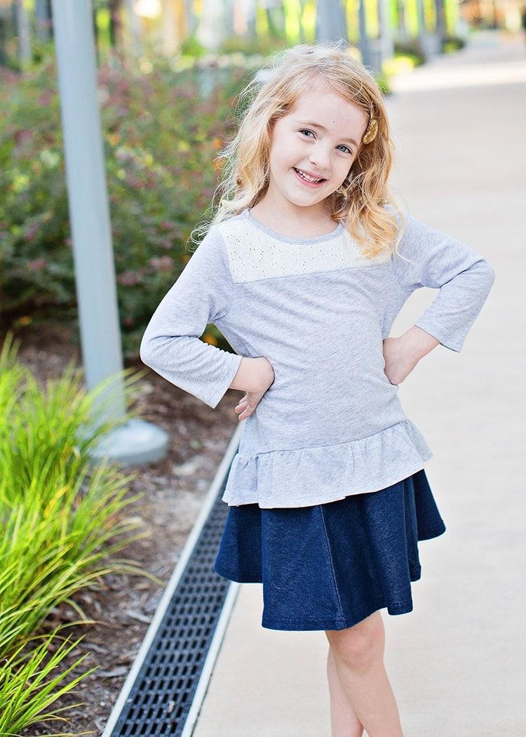 fall neutral preschooler outfit idea