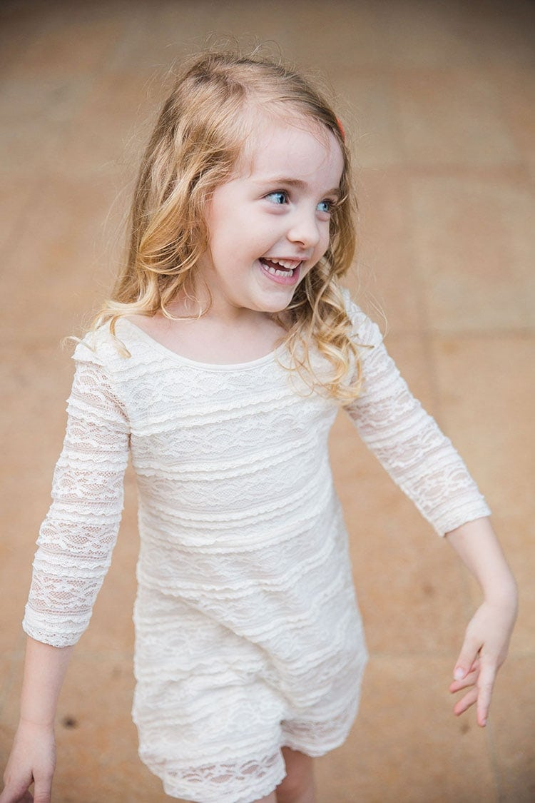 toddler cream dress