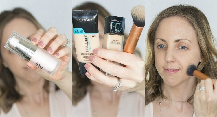 drugstore primer and favorite drugstore foundations