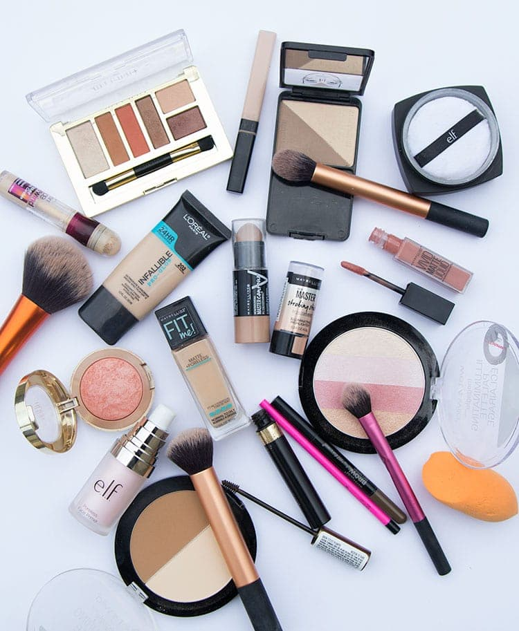 all of these drugstore makeup products are amazing!!