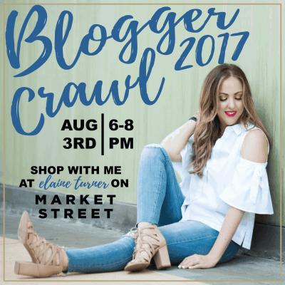 Meg Owen Woodlands Market Street Blogger Crawl