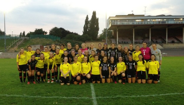 NYUWS & Watford Ladies Prematch