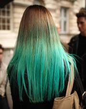 amazing bright colors hair