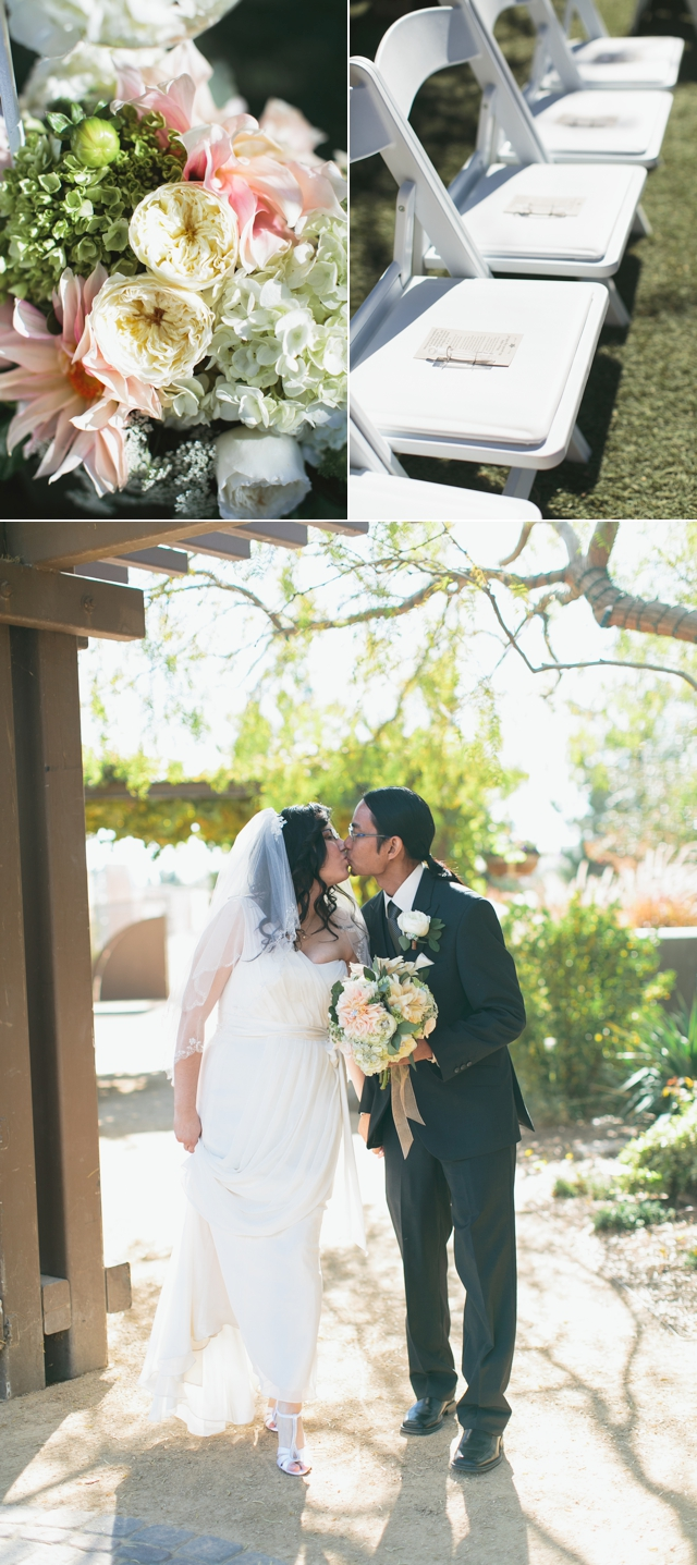 Springs Preserve Wedding Las Vegas by Meg Ruth Photo, Scheme Events, Enchanted Florist, and Retro Bakery