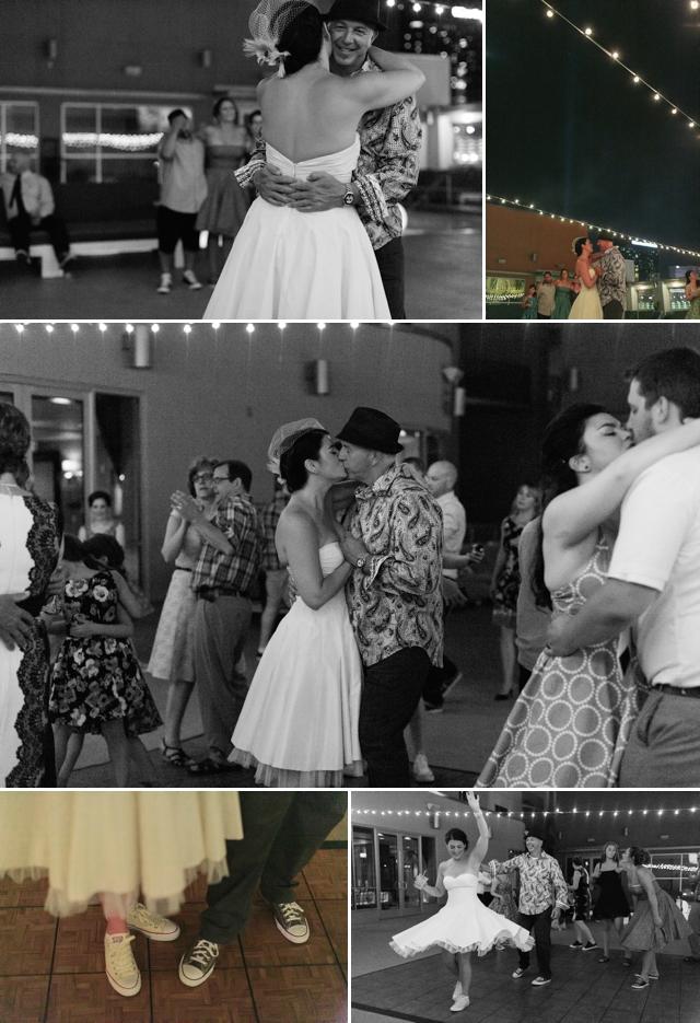 Platinum Hotel Las Vegas Wedding | Retro 50s Wedding Las Vegas| Meg Ruth Photo | Peachy Keen Unions | Naakiti Floral