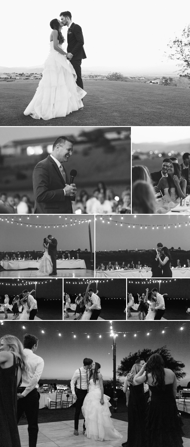 Revere Golf Club Wedding Cafe Lights by Meg Ruth Photo