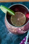 This Cherry Moscow Mule is perfect for summer. Light, sweet, zingy and refreshing.