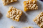 Lemon Curd Shortbread Crumb Bars are made using Bob's Red Mill Unbleached White All-Purpose Organic Flour and are perfect for Spring baking.