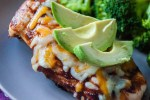 Avocado BBQ Chicken Cheddar Melt