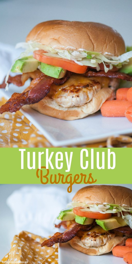 Club Turkey Burgers