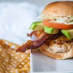 Turkey Club Burger