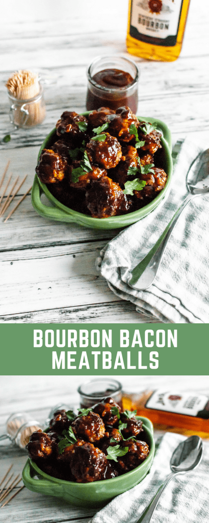 Bourbon Bacon Meatballs