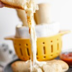 Cheese Stuffed Breadsticks are the perfect addition to your pasta or soup this fall. Ooey gooey cheese inside delicious pizza dough. Perfect for dipping.