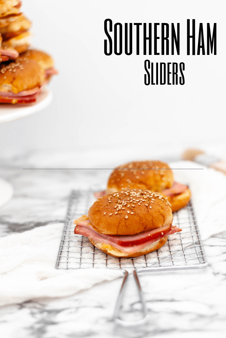 Put that leftover Easter ham to good use and make these Southern Ham Sliders. Sweet Hawaiian slider buns, creamy, flavorful pimento cheese and leftover ham slices make dinner a snap.