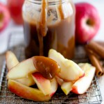 You need this Pumpkin Spice Caramel Sauce for all your fall desserts. Delicious on ice cream, drizzled over desserts or as a dip for your apples.