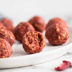 Need a little energy boost or a healthy snack? These Strawberry Energy Balls are super simple to make and sweetly delicious to eat.