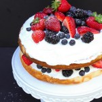 Vanilla Berry Layer Cake