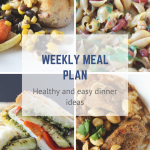 Meal Plan for Week of September 4th