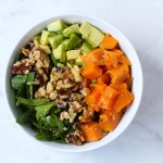Sweet Potato, Spinach Buddha Bowl