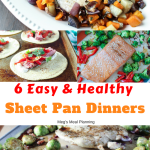 6 sheet pan dinners