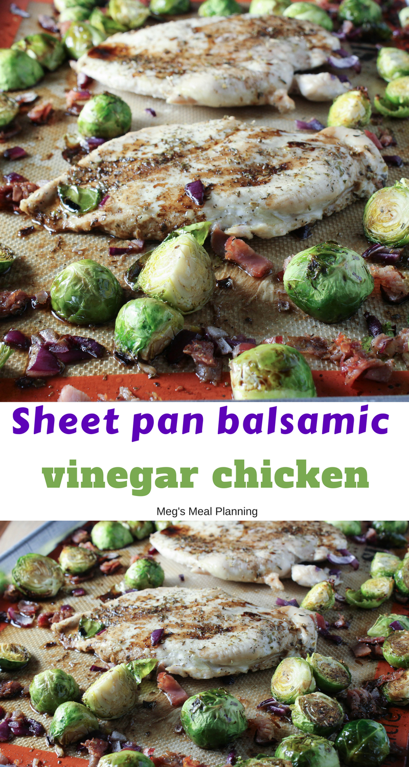 Balsamic vinegar chicken