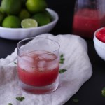 Summer watermelon margarita