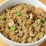 Fried quinoa rice