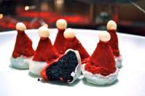 Santa Cake Bites
