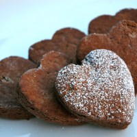 Valentine Chocolate Scones