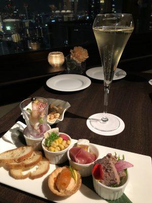 ウェスティンホテル大阪のオシャレなクラブラウンジと充実の朝食